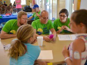 Diabetes Camp Staff & Campers